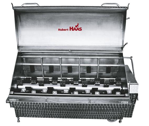 Automatische Brüh- & Enthaarungsmaschine Typ H(N)MR oder H(N)ML