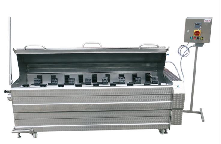 Automatische Brüh- & Enthaarungsmaschine Typ H(N)SKR oder H(N)SKL